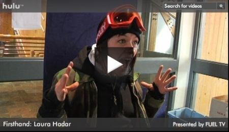 Laura Hadar's First Hand from Fuel.TV